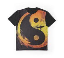 yin yang surfin V1 Graphic T-Shirt