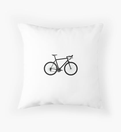Fixie bike Throw Pillow