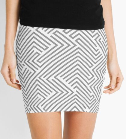 New exclusive Graphic dress in Shop : grey edition Mini Skirt