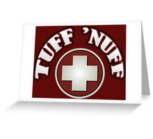 Tuff Nuff IW Zombies Perk Greeting Card