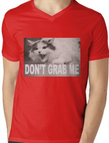 Don't Grab Me Mens V-Neck T-Shirt