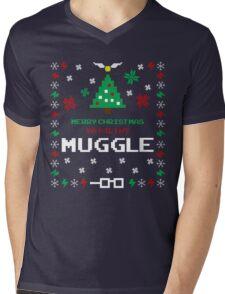 Merry Christmas Ya Filthy Muggle Mens V-Neck T-Shirt
