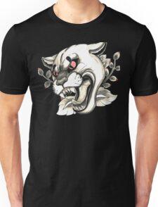 Cougar Tattoo Flash Unisex T-Shirt