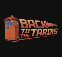 Back To The Tardis by nardesign
