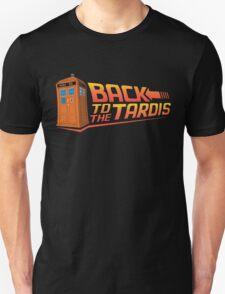 Back To The Tardis T-Shirt
