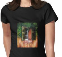 Southwest Window Womens Fitted T-Shirt
