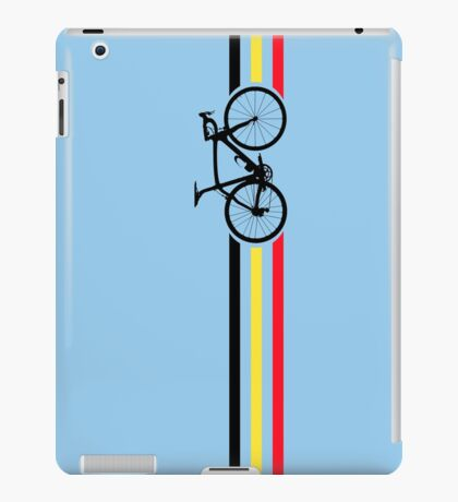 Bike Stripes Belgian National Road Race v2 iPad Case/Skin