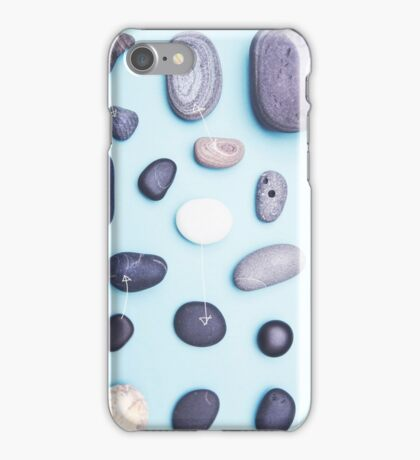 Paired pebbles... iPhone Case/Skin