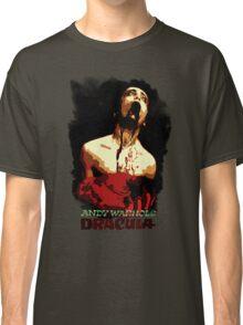 Andy Warhol's Dracula  Classic T-Shirt