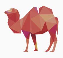 Geometrical camel Baby Tee