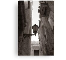 Old Town Street I Canvas Print