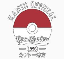Kanto official gym leader One Piece - Short Sleeve