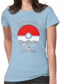 Kanto official gym leader Womens Fitted T-Shirt