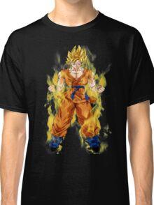 goku super saiyan aura Classic T-Shirt