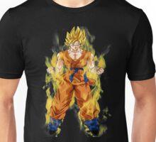 goku super saiyan aura Unisex T-Shirt