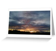 Cheshire Sky Greeting Card