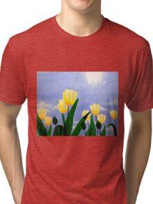 Tulips in the Sun Tri-blend T-Shirt