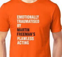 Emotionally traumatised by 06 Unisex T-Shirt