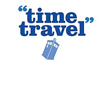 Time Trave Photographic Print
