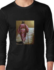 Navajo Woman...Long Walk Home... Long Sleeve T-Shirt