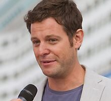 Matt Baker at the Southampton Boat show 2014 by Keith Larby
