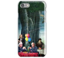 Stephen Hawking's Party (products revised) iPhone Case/Skin