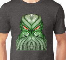 Cthulhu / Kraken Green Sea Monster Red Evil Bloodshot Eyes Unisex T-Shirt