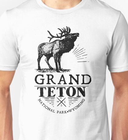 GRAND TETON NATIONAL PARK WYOMING ELK ADVENTURE Unisex T-Shirt