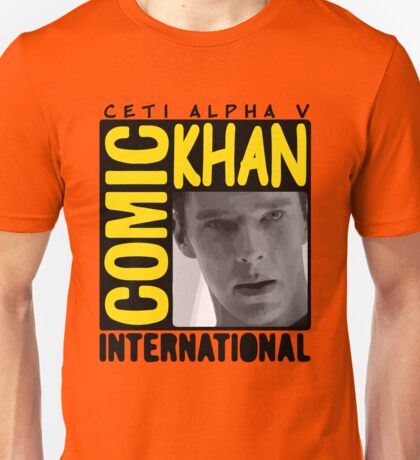 COMIC KHAN  Unisex T-Shirt