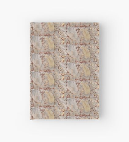 Red Marble Hardcover Journal