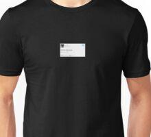 ASAP Yams: nobody cares my g Unisex T-Shirt