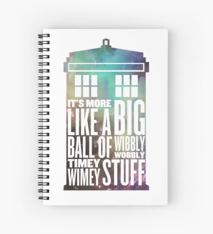 Doctor who Spiral Notebook