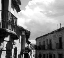 Las calles de Pedraza Sticker