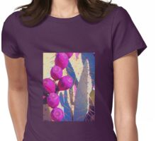 Cactus Surprise Womens Fitted T-Shirt