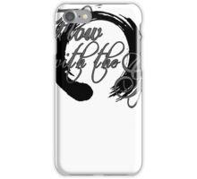 Flow print iPhone Case/Skin