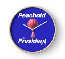 Peachoid for President - Peach water tower from House of Cards Clock