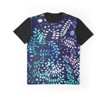 Dots & Leaves Graphic T-Shirt