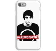 Danisnotonfire Poster Style iPhone Case/Skin