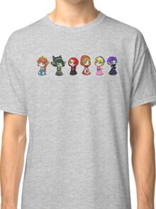 Little Scyllas - All in a Row Classic T-Shirt