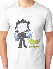 Scissor hands Unisex T-Shirt