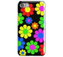 Hippy Flower Daisy Spring Pattern iPhone Case/Skin