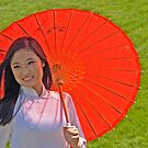 The red umbrella by cclaude