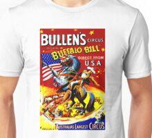 BULLEN'S; Vintage Australian Circus Advertising Print Unisex T-Shirt
