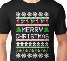 Merry Christmas T-Shirt, Funny Ugly Christmas Sweater Gift Unisex T-Shirt