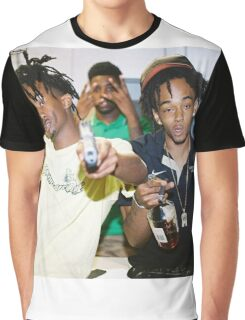 Playboi carti X Thouxanbandfauni Graphic T-Shirt
