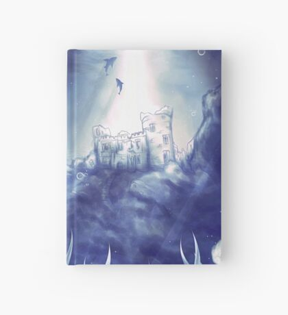 Underwater World- Mermaid and Castle Hardcover Journal
