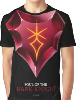 Soul of the Dark Knight -black Graphic T-Shirt