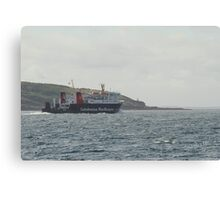 MV Lord of the Isles passing the Isle of Mull Canvas Print