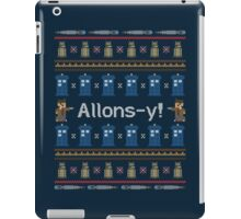Allons-y, It's Christmas! iPad Case/Skin