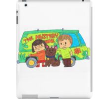 Sleuth Couple and Dog iPad Case/Skin